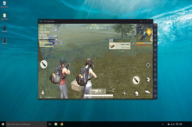 играть в PUBG Mobile на пк с помощью NoxPlayer